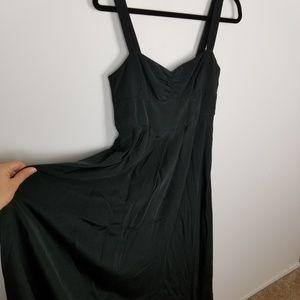 J. crew 100% silk gown